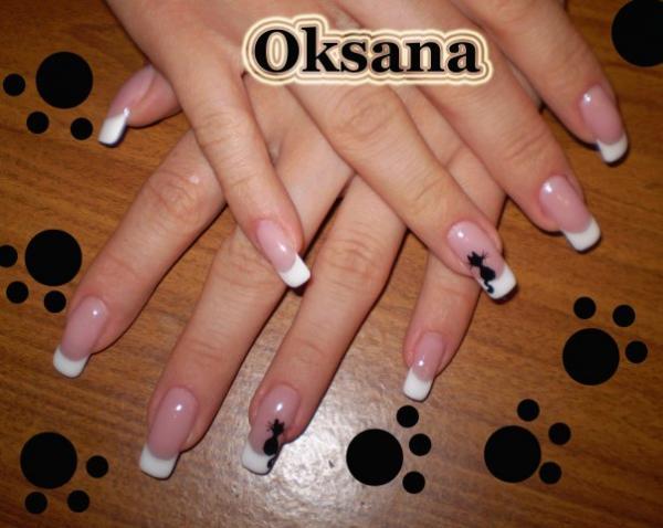 Новое фото дизайна ногтей гелем